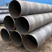 Quality ASTM A53/106 anti-corrosion welded carbon Spiral steel pipe for sale