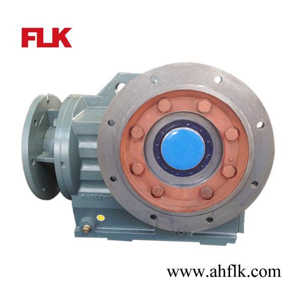 Kaf157 helical bevel hollow shaft gear reducer with iec for Hollow shaft gear motor