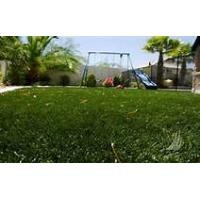 China Sports nylon artificial grass / fake grass squares for football field on sale