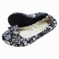 Quality Women's Ballerinas, Available in Different Upper Designs, Customized Designs Welcomed for sale