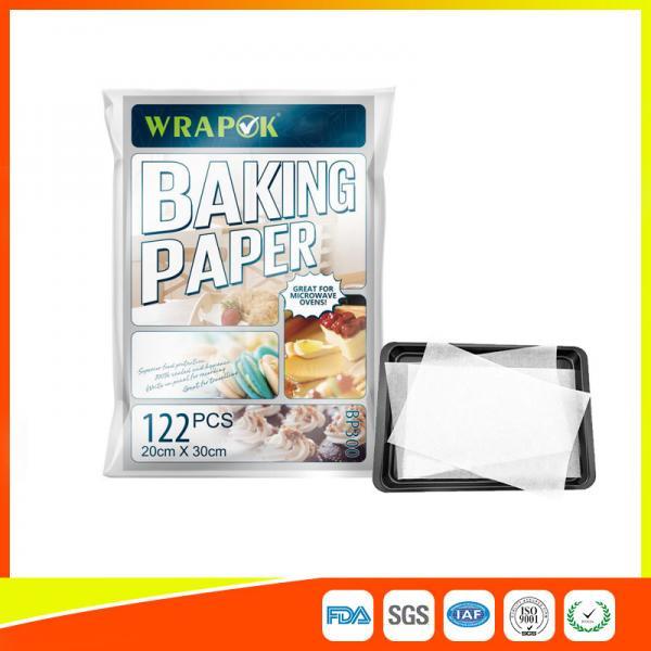 Wrapok Baking Parchment Paper Sheets 7 9 X 12 Pre Cut