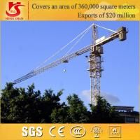China Building Construction site generally use Model QTZ6010 tower crane on sale