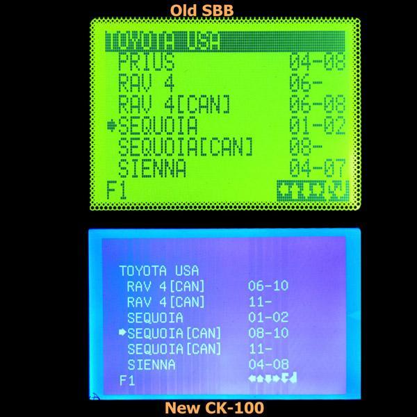 ck-100 key programmer toyota module 3
