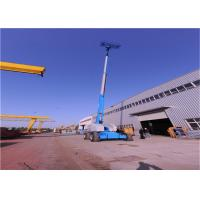 Quality Mulitipurpose Straight Boom Manlift Automatically 360° Rotation With Security System for sale