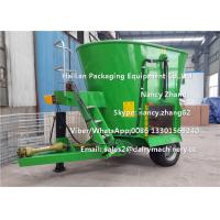 Quality 7CBM Vertical TMR Mixers For Cow Farms , CE Certificate Cattle Feed Mixer for sale