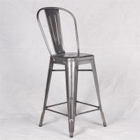 Metal tolix chairs with brushed galvanized marais bar counter stool chair of aluminumnavychairs - Marais counter stool ...