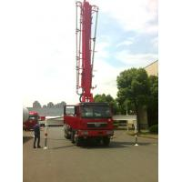 Quality Diesel Engine 37m 8x4 FAW 380HP Concrete Pump Trucks with RHD Type for sale