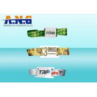 Buy Custom Logo UHF Rfid Tag Event Wristbands Rfid Festival Wristbands For Sport at wholesale prices