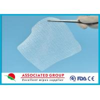 Quality Cotton Non Woven Gauze Swabs 10 x 10, X-ray Detectable Gauze Swabs for sale