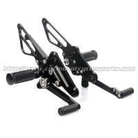 Quality CNC Milling Aluminum Motorcycle Rear Sets For Honda Spare Parts for sale