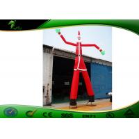 Quality Christmas Clown Advertising 2 Legs Inflatable Advertising Man With Oxford Cloth for sale