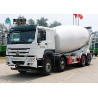 Buy cheap 371HP 8X4 12 Wheels Concrete Mixer Truck from wholesalers