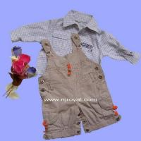 China Chilren's Apparel, Shirt&Blouse and Suspender Pant on sale