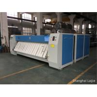 Quality Stainless Steel Roller Laundry Flatwork Ironer / Ironing Machine For Bed Sheets for sale