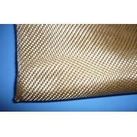 Quality Corrosion Resistant Acrylic Glass Fibre Cloth Yellow , Plain Weave for sale