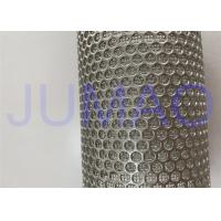 Quality Tube Shaped Sintered Stainless Steel Filter With Easy To Back Flush for sale