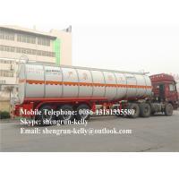 Buy cheap 40000L 50000 Liters fuel tank trailer / diesel oil petrol tanker semi trailer from Wholesalers