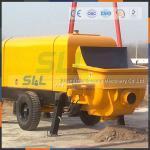 Quality Diesel Power Hydraulic Concrete Pump , 90m3/H High Pressure Concrete Pump for sale