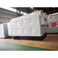 Quality Industrial Biomass Fired Steam Boiler For Papermaking Electric Panel Control for sale