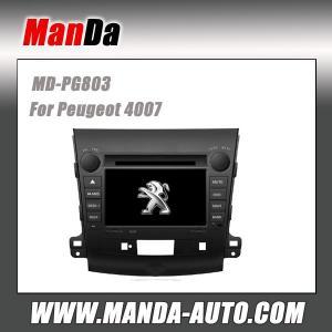Quality Manda factory dvd car gps for Peugeot 4007 in-dash car radio navigation for sale