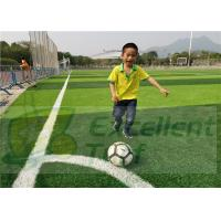 China High Wear - Resistance Water Saving Sports Synthetic Grass / Artificial Grass Soccer Field on sale