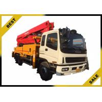 Quality 25m Truck-mounted Concrete Pump Concrete Boom Pump Truck 132 kw for sale