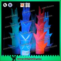 Quality 3m Led Inflatable Pillar Lights For Party / Wedding Decoration for sale