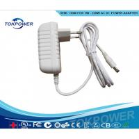 Quality White Power Adapter Wall Mounted Switching Power Supply 5W -24W for sale
