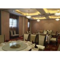 Quality Ballrooms Soundproof Room Dividers Aluminium Interior Wall Panels for sale