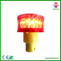 Quality Hot Sale LED Red Flashing Solar Airport Runway Lights for sale