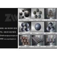 Buy cheap High Medium Low Chrome Cast Iron Balls for Cement Plant Ball Mill from wholesalers