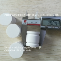 Quality 92% 95% alumina ceramic milling cylinder ball for mixing and grinding ceramics, glass glaze for sale