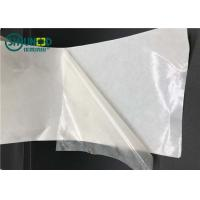 Buy cheap Semi-transparent TPU hot melt film with release paper for garment adhesive from wholesalers