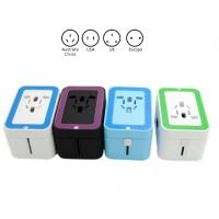 Quality Small AC Dual USB Travel Charger Adapter , Power Travel Adaptor With USB Port for sale
