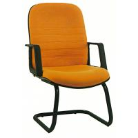 Quality Pretty Student Computer Chairs , Fabric Office Desk Chairs Without Wheels for sale