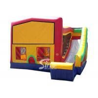 China PVC Tarpaulin Inflatable Bounce Houses With Slide Multifunctional on sale
