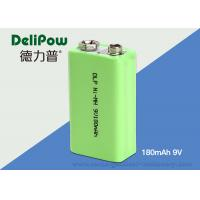 Rapid Charge 180mAh 9V Rechargeable Nimh Batteries For Industrial