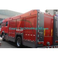 Buy cheap SINOTRUCK HOWO Special Purpose Truck Fire Rescue Vehicles 4x2 6-10 Cbm 375HP from wholesalers
