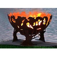 Quality Fashionable Design Corten Steel Fire Pit Bowl Superior Corrosion Resistance for sale