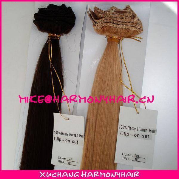 Buy wholesale virgin brazilian clip in hair extensions/clip in human hair extensions/clip in hair extension at wholesale prices