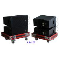 China Single 10 Full Range Line Array Speaker LA-110 For Party , Living Event , Church and Wedding on sale
