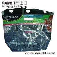 Quality Moisture Proof Plastic Fruit And Vegetable Packaging Pouch With Zipper for sale