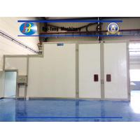 Quality Automatic Sand Blasting Chamber Multistep Fixed Point Rotation Blasting And Cleaning for sale