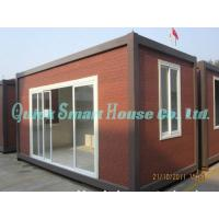 Quality Galvanized Q235 Steel Prefab Container House , Portable Structure Homes for sale