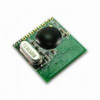 Quality RF Transceiver Module with Multi-channel Frequencies from 2400 to 2482GHz for sale