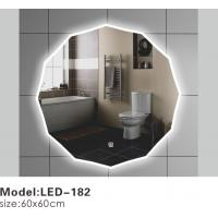 Quality Exotic Touch LED Bathroom Mirrors With Lights Behind , Lighted Bathroom Vanity Wall Mirror for sale
