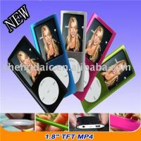 China Mp4 player 1.8 TFT 1GB TO 8GB on sale