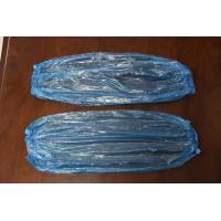 Quality cheap disposable plastic PE sleeve cover in white, red, yellow or blue color for sale