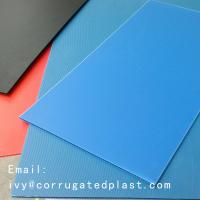 Quality Plastic corflute corrugated strong sheet/4mm Corrugated plastic sheet 4x8/ Coroplast with low price for sale