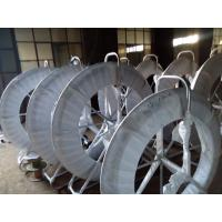 Fiberglass reinforced plastic duct rodder of dpair